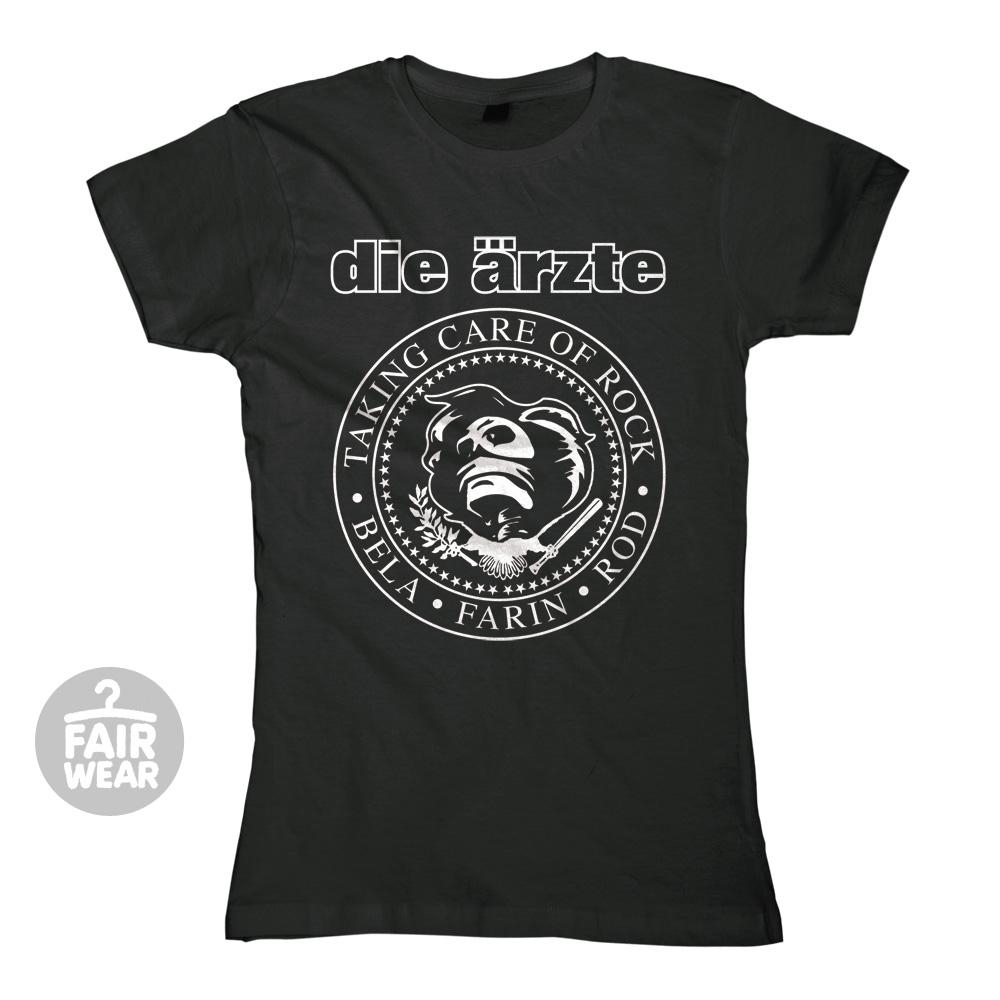 Taking Care of Rock von die ärzte - Girlie Shirt jetzt im die aerzte shop Shop