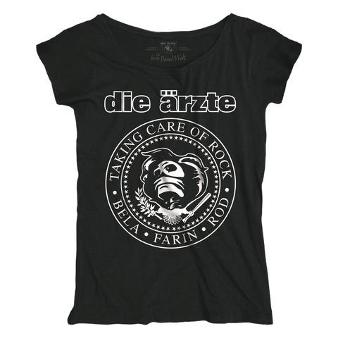 Taking Care of Rock von die ärzte - Girlie Shirt Loose Fit jetzt im die aerzte shop Shop
