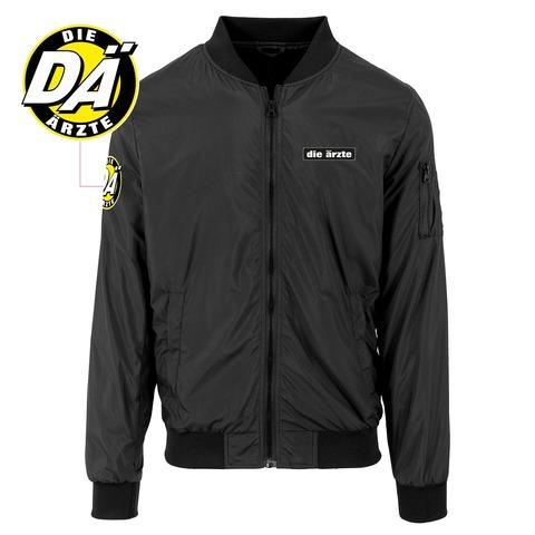 die ärzte Logo - Jacke (mit Aufnähern) von die ärzte - Light Bomber Jacket jetzt im die aerzte shop Shop