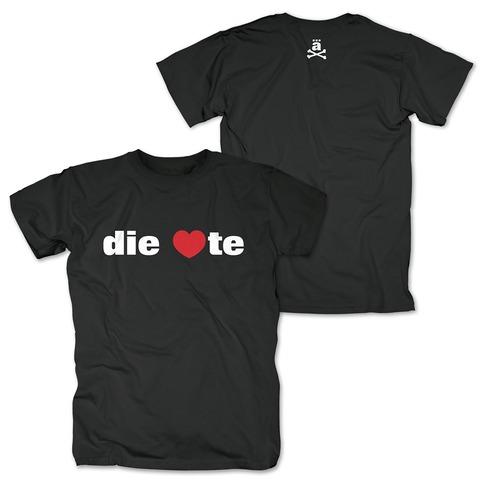 die <3te von die ärzte - T-Shirt jetzt im die aerzte shop Shop