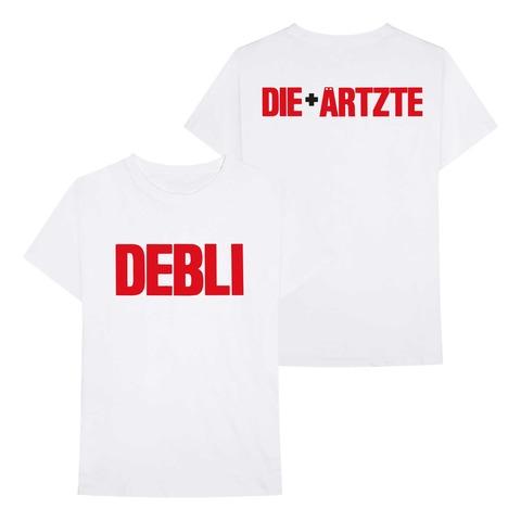 Die Ärtzte + Debli von die ärzte - T-Shirt jetzt im die aerzte shop Shop
